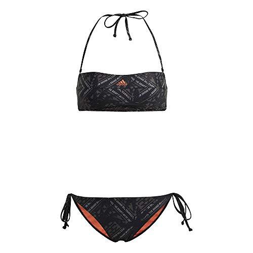 adidas Fstivbs Bikini für Damen, Damen, Bikini, GH6834, Schwarz (Negro/Naraut), M