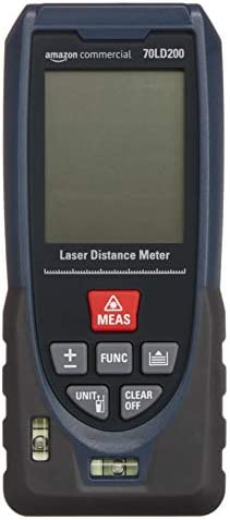 AmazonCommercial Laser 40m Distance Meter Fast Measurement Ability for Outdoor Measurement product image