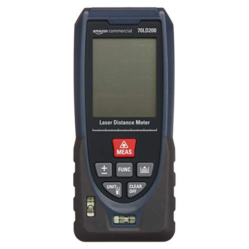 AmazonCommercial Laser 40m Distance Meter, Fast Measurement Ability of Outdoor