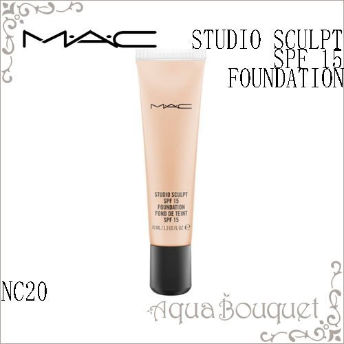 MAC Studio Sculpt SPF 15 Foundation, NC20, 40 ml