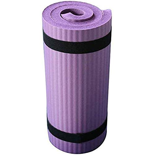 A-zht Conveniente Alfombra de Yoga sin Deslizamiento Alfombra Pilates Gimnasio Deporte Ejercicio Almohadillas para Principiantes Fitness Gimnasia Ambiental lustressness Durable (Color : Pink)