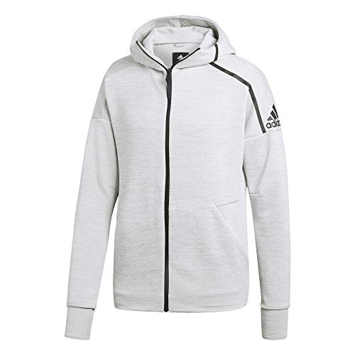 adidas Herren Hooded Kapuzen-Jacke, Zne Htr/Ash Silver, 2XL