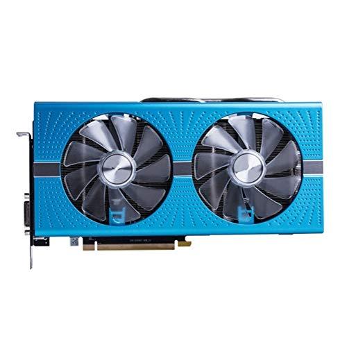 Tarjeta Grafica 8GB Tarjetas Gráficas GPU Radeon RX590 GPE 8GB Fit For Nitro AMD Tarjeta DE Video ESCRUPARIO Pantalla PCES Pantalla DE Juego Tarjeta DE Video
