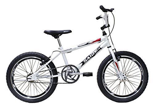 Bicicleta Aro 20 Bmx Cross Freestyle Saidx (Branco)