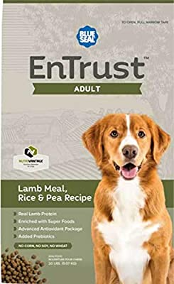 ENTRUST Adult Lamb Meal, Rice & Pea Recipe Premium Dog Food - 6lb Bag