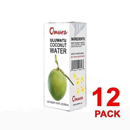 Taste Nirvan, agua de coco, (Paquete de 12)