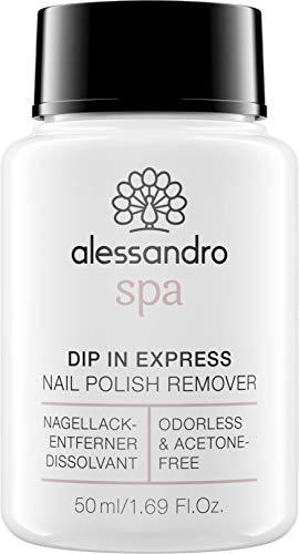 Spa Dip In Express nagellakverwijderaar, geurloos en zonder aceton, 50 ml