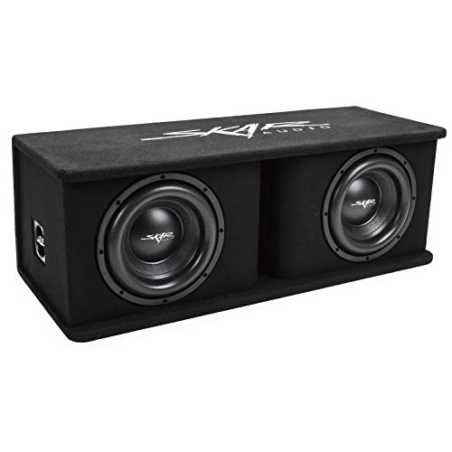 "Skar Audio Dual 10"" 2400W Loaded Sdr Series Vented Subwoofer Enclosure 