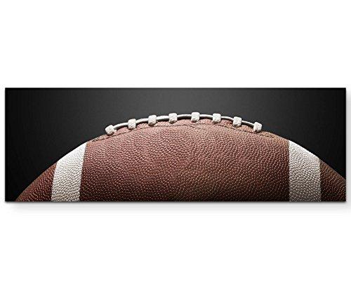 Paul Sinus Art Leinwandbilder | Bilder Leinwand 120x40cm Football