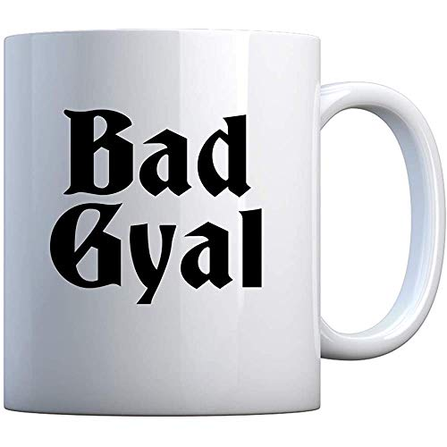 Taza Taza de regalo blanca Bad Gyal