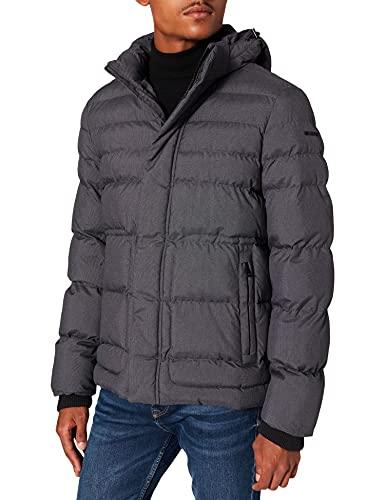 Geox Herren M Sandford M1428UT2667 Jacket, Salt Pepper, 58