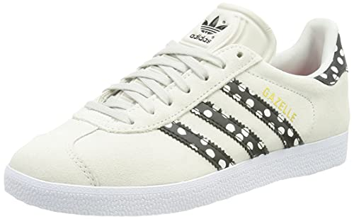 adidas Gazelle W, Zapatillas Deportivas Mujer, Grey One Core Black Gold Met, 38 EU