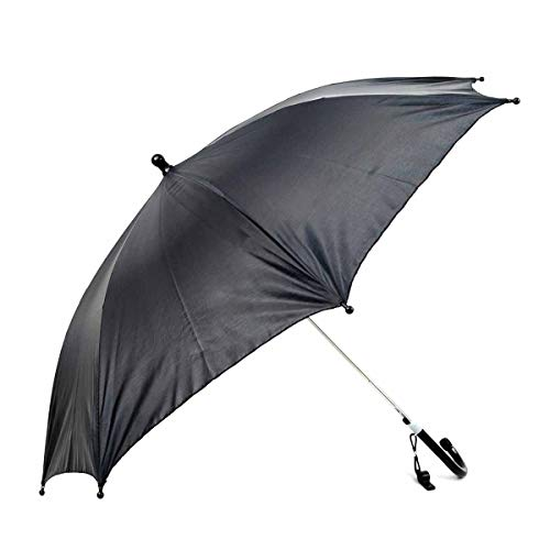 Black Umbrella for Kids with Safety Whistle. Gift Boxed.