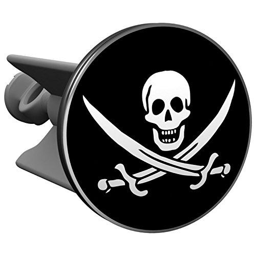 Pirat Stöpsel - original Plopp Badewannenstöpsel als ausgefallene Geschenkidee, Badezimmer Deko