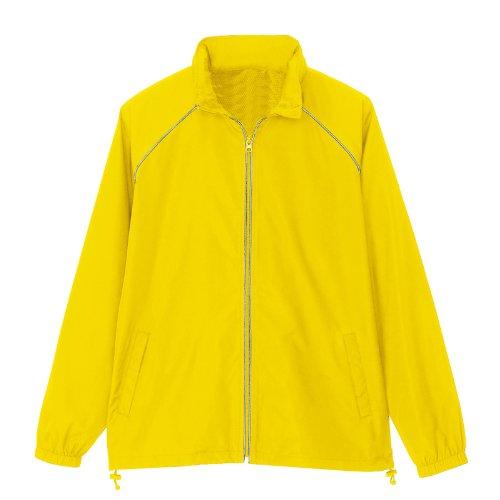 アイトス リフレクトジャケット(男女兼用)(春夏用) AZ-2202 019 イエロー Lサイズ