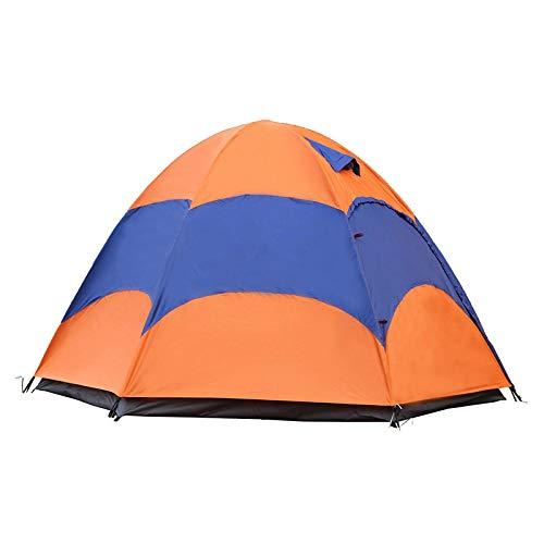 Camping Al Aire Libre De Playa De Arena De Doble Capa De Gran TamañO De Seis Pisos para 3 - 5 Personas En DíAs Lluviosos