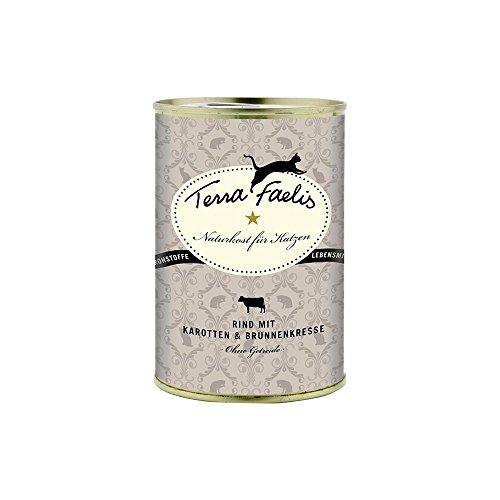 Terra Canis Classic Rind mit Karotte, und Brunnenkresse, 6er Pack (6 x 100 g)