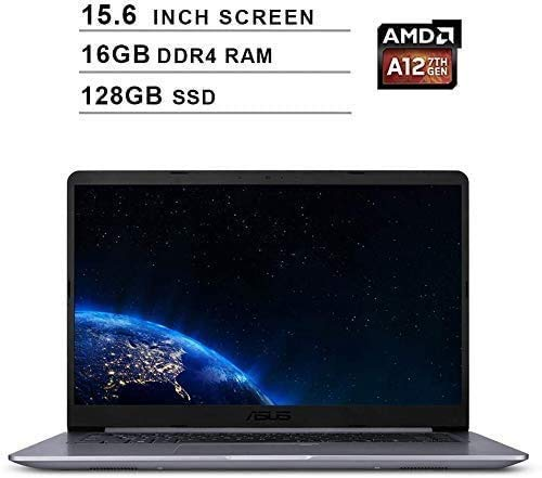 2019 Asus VivoBook F510QA 15.6 Inch FHD Laptop Computer (AMD Quad Core A12-9720P up to 3.6GHz, 16GB RAM, 1TB SSD, AMD Radeon R7, Bluetooth, WiFi, HDMI, Windows 10)