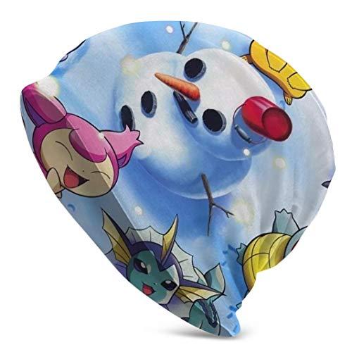 Hipiyoled Pikachu Beanie Skull Knit Cuff Beanie Cap Herren Damen