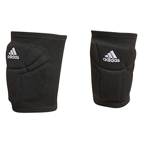 adidas Unisex-Erwachsene Elite Knee Pad Knieschoner, schwarz/weiß, Medium