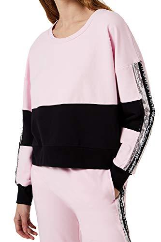 Liu Jo Jeans Sweatshirt Liujo Sport geschlossen Damen Pink TA0017/F0802, Pink XS