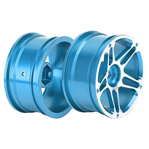 Dispositivo de protección de coche con neumáticos de goma Coches de control remoto Viajes al aire libre(blue)