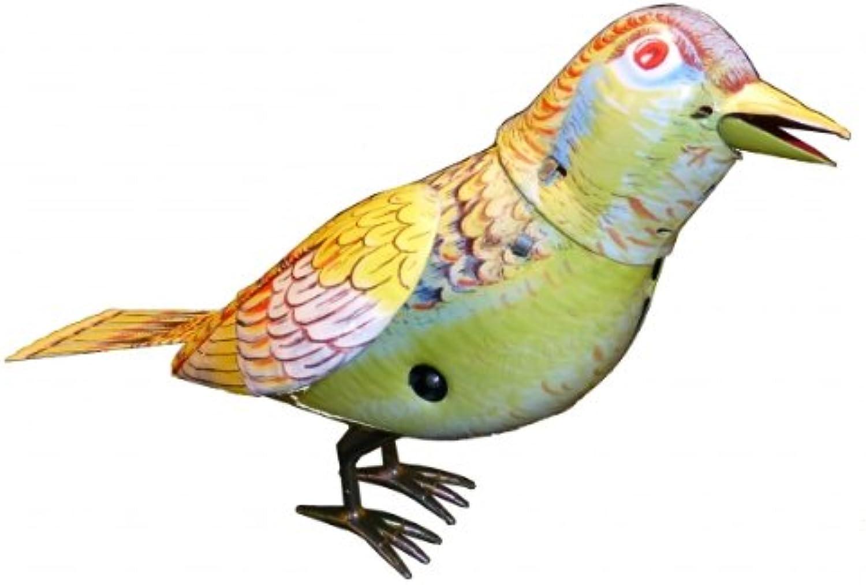 Vogel Singing Bird mit Stimme, Blechspielzeug