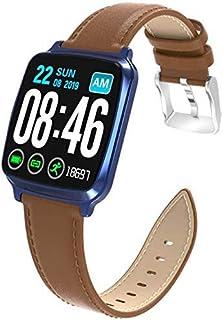 Gymqian Fitness Tracker Smart Fitness Tracker/Smart Pulsera, Smart Activity Tracker, M8 Color Screen Sport Watch Pulsera Inteligente, Pulsera para Niños Mujeres Hombres Blue Sport