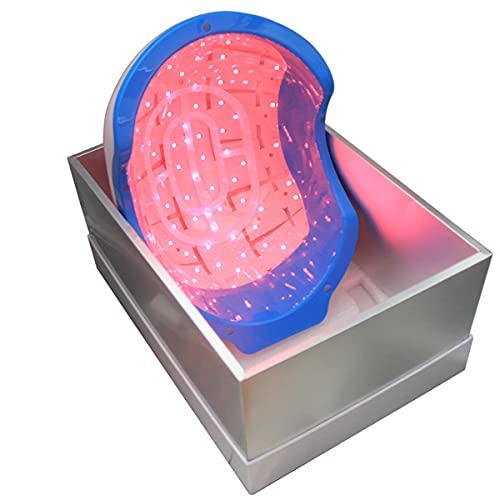 Pro LH272 Casque laser pour traitement de chute de cheveux pour homme et femme Stimule la pousse des cheveux et repousse les cheveux