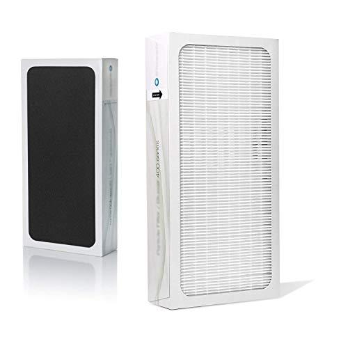 LongRong HEPA - Filtro de carbón activo para Blueair Classic 400 serie compatible con 410 402 403 405 450E 455EB 480i purificador de aire