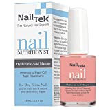Nail Tek Nutritionist Peel-Off Nail Masque with Hyaluronic Acid, Hydrate, Nourish, and Strengthen Soft and Peeling Nails, 0.5 oz, 1-Pack