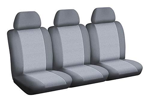 Renault Autositzbezüge/Nutzfahrzeug Sitzbezüge - nach Maß - Schnelle Montage - Kompatibel mit Airbag - Isofix - 1011744