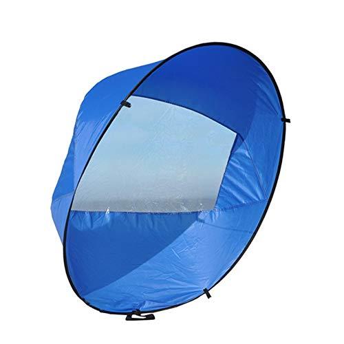 Kayak - Velas cortaviento/kayak de 42 pulgadas para bajar el viento, kayak, kayak, con bolsa de almacenamiento, toldo plegable, tabla de remo, accesorios, para kayak, barco, velero, canoa