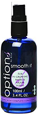 Hive of Beauty Smooth Growing Hairs and Razor Burns Treatment Spray 100ml