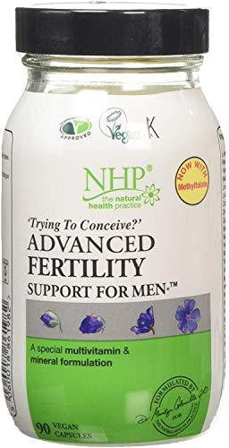 Natural Health Practice Multivitamin & Mineral Fertility Support for Men (90 Vegicaps)