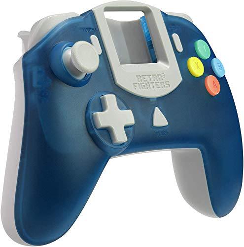 【日本正規品】Retro Fighters ドリームキャスト用コントローラー [ブルー] - StrikerDC DreamCast Controller Blue [SRPJ2381]