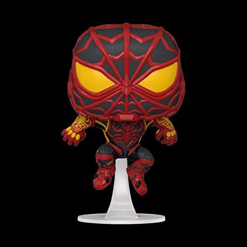 Funko 50151 POP Games: Spider-Man: Miles Morales- Miles (S.T.R.I.K.E. Suit)