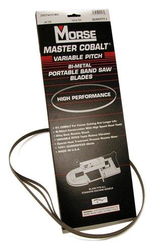 MK Morse ZWEP441418MC Master Cobalt Portable Band Saw,...