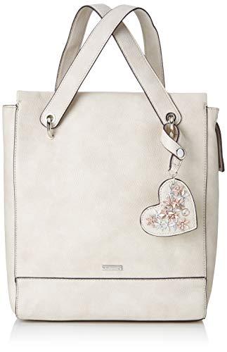 Tamaris Damen Milla Backpack Rucksackhandtasche Grau (Light Grey)