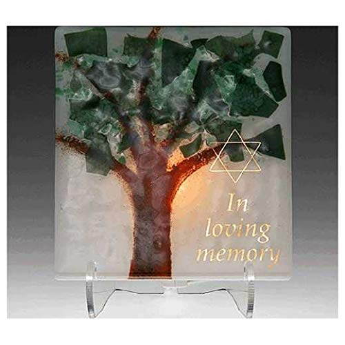 Electric Yarzheit Candle Sitting Shivah Jewish Funeral Memorial Candle Tree of Life