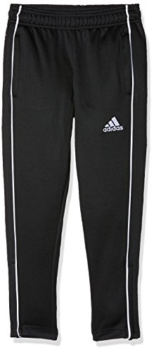 adidas Core18 Tr Pnt Y Pantaloni Sportivi., Unisex bambini, Black/White., 1112