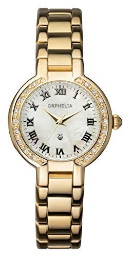 Orphelia Damen-Armbanduhr La belle  Analog Quarz Edelstahl