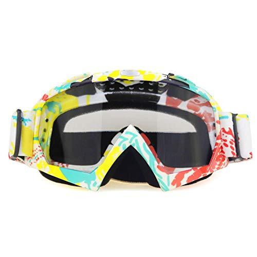 Zfeng deportes al aire libre gafas Off-road downhill motocicleta equitación equipo esquí anti-viento y arena salpicaduras gafas anti-impacto y polvo protección ocular-N