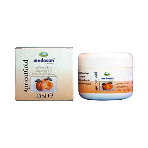 Medosan ApricotGold Aprikosenöl-Gel, 1er Pack (1 x 50 ml)