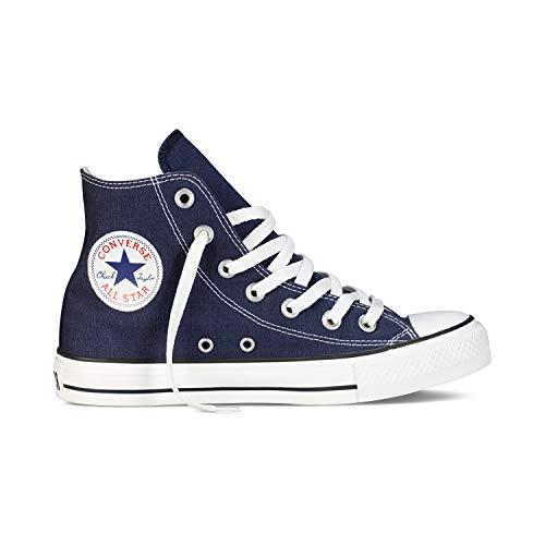 Converse Chuck Taylor All Star High Classic CTAS Hi Unisex Canvas Sneaker mit 7kmh Aufkleber Blau 1503 37
