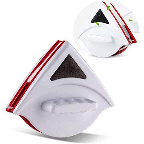 Zixin Magnetische Scheibenwischer Glasreiniger Pinsel-Werkzeug, doppelte seitliche Magnetbürste Fensterglas Pinsel 15-24Mm for Waschen Haushalt