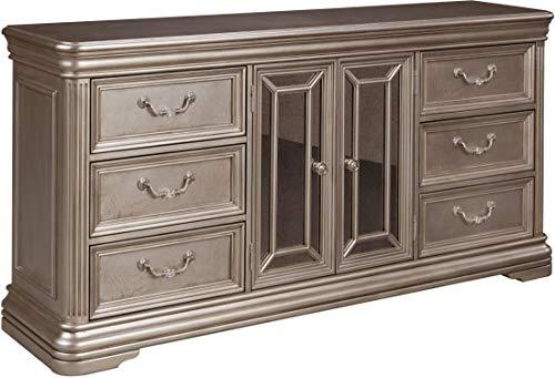Ashley Furniture Signature Design - Birlanny Dresser - Silver