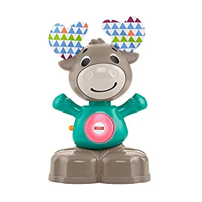 Fisher-Price GHR20 Linkimals Musical Moose, Interactive Baby Toy with Lights and Sounds from Mattel