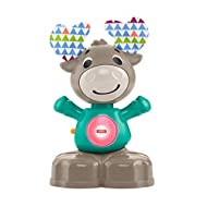 The interactive toy moose introduces your baby to numbers, counting and more, this playful moose baby toy also introduces babies to music and colours to keep baby amused Kids can easily press the moose's belly, it claps its hands and bobs its head a...