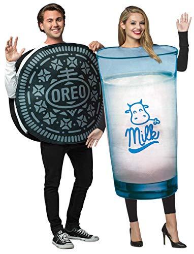 Rasta Imposta Couples Costume - Milk-n-Cookies.Dunk Your Oreo! Black and White